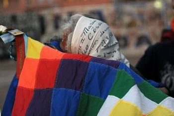 Organizaciones indígenas y organismos de derechos humanos, hermanados. (Foto: Ignacio Smith)