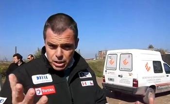 Nicol�s Cama�o, directivo de EIDICO, una empresa de