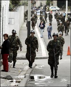 Más de 200 mil efectivos militares y de la fuerza pública custodiaron las elecciones