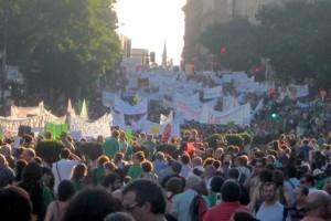 Acto en Plaza de Mayo