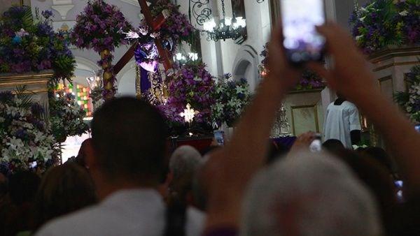 La Basílica de Santa Teresa es uno de los templos católicos más importantes de Caracas donde se venera la imagen del Nazareno de San Pablo en la Semana Santa.