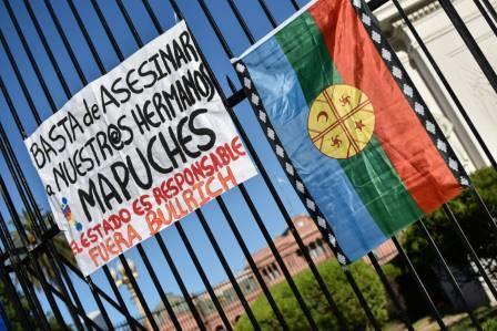 basta asesinar hnxs mapuche