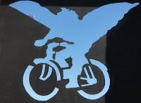 La bicicleta con alas