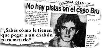 Desaparecidos en democracia (no te comas el verso de CFK)
