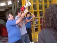 Protesta en supermercados Lorena Eki