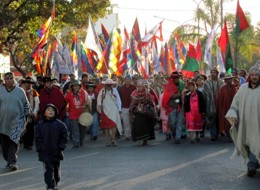Marcha Nacional de Pueblos Originarios