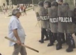 Represión en Mosconi