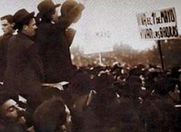 Manifestación del 1° de Mayo de 1909 en Buenos Aires