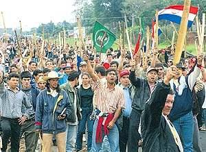 Paraguay: levantamie...