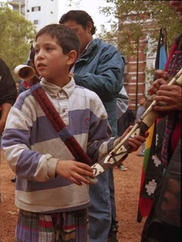 fotos marcha indigen...