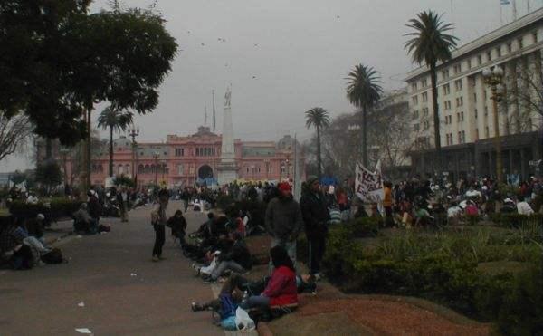 Panorama de la Plaza...