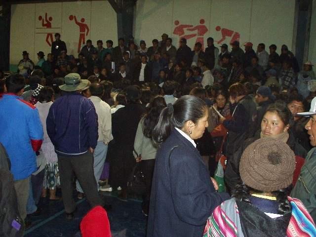 Bolivia. urgente nec...