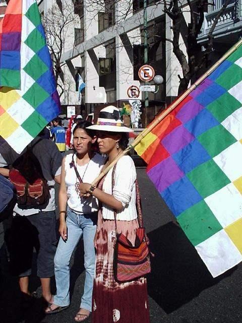 Marcha Por Bolvia en...