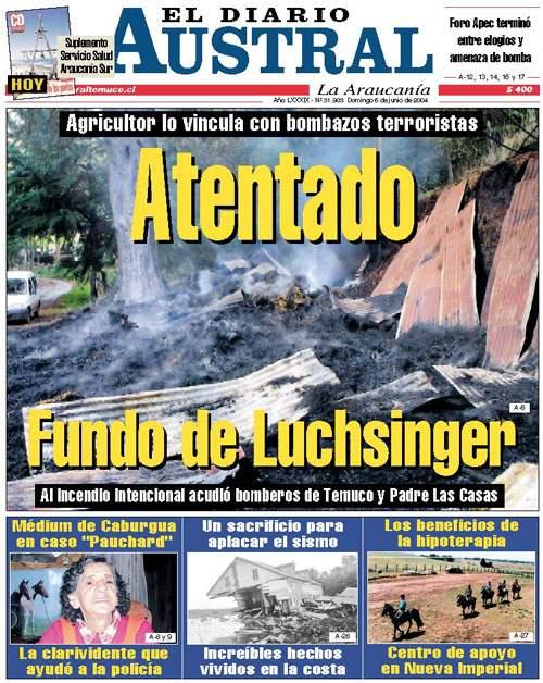 Conflicto Mapuche, I...