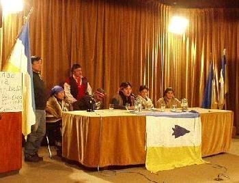 Mapuches presentan p...
