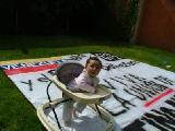 Nuestros hijos se reconocer�n independientes, libres y unidos, bajo el manto de Bolivar.