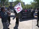 bander�n de Dar�o y Maxi con los cumpas del Mocase