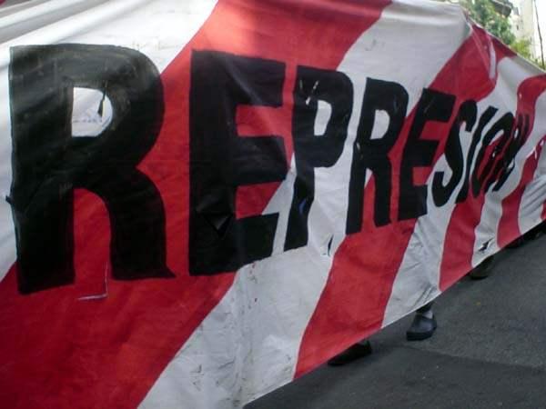 represion...