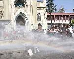 Cobertura - Chile: Represi�n con agua y gases a la manifestaci�n estudiantil antiAPEC