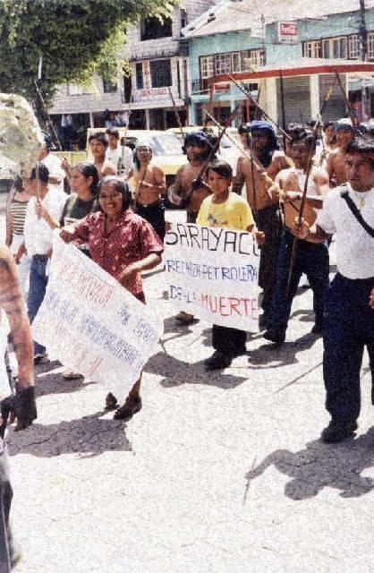 ECUADOR: SARAYACUS D...