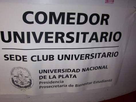 Fotos del comedor unlp argentina indymedia i for Comedor universitario unlp