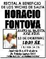 Recital a beneficio de los wichis (HORACIO FONTOVA)