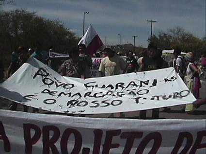 Pueblo Guarani...