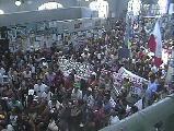 Protesta de los PUEBLOS ORIGINARIOS