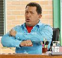 Chavez durante su programa Al� Presidente