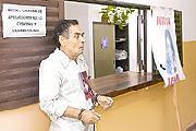 Younes Bshier se encaden� en Tribunales