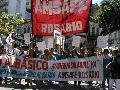 "Lucha docente: 10.000 manifestantes gritan ""No hay tregua"" (2)"