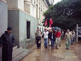 L@s Trabajador@s de la ex-Clinica Junin, Marcharon a Tribunales I