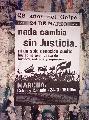 Afiche convocante a la marcha del 24.
