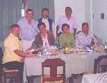 El equipo que trabajó en Santiago
