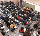 Foro contra la LES y Ley Federal de Educacion en la Universidad Nacional del Comahue