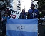 Rosario contra Bush: La marcha al Monumento