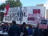 Fotos de la movilizaci�n en Mar del Plata (antes de las vallas)