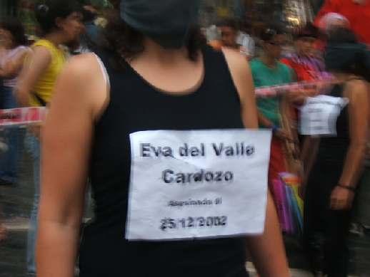 Eva Cardozo...