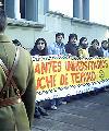 Estudiantes exigen libertad de compa�ero encarcelado