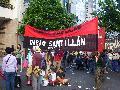 Marcha contra la presencia de Bush en Argentina