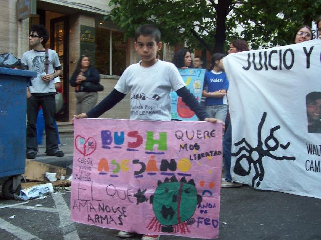 marcha anti-bush...