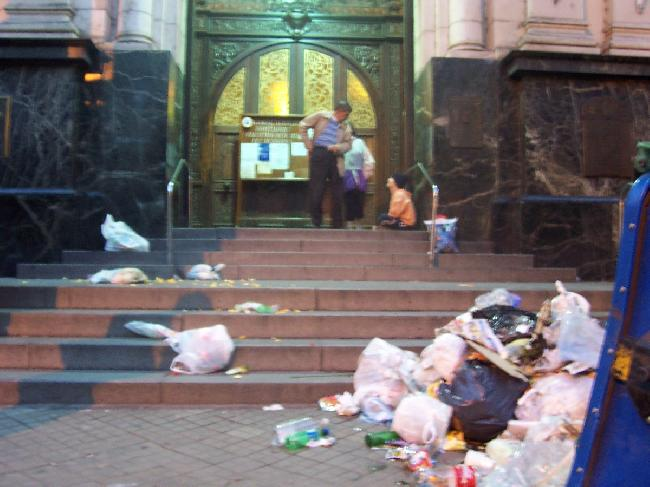 iglesia=basura...