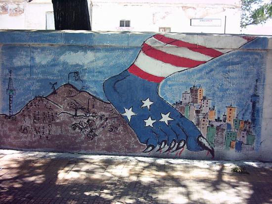 Imagenes de como quedo el mural argentina indymedia i for El mural pelicula argentina