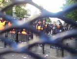 Fotos de la movilizaci�n en Mar del Plata (desde que se lleg� a las vallas)