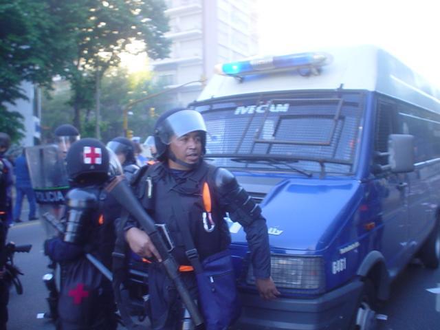Represión y detenci...