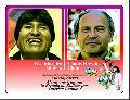 Evo Morales y Tom�s Hirsch lideran lucha de los pueblos de Bolivia y Chile
