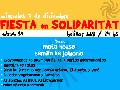 Mi�rcoles 7/12: FIESTA EN SOLIDARITAT