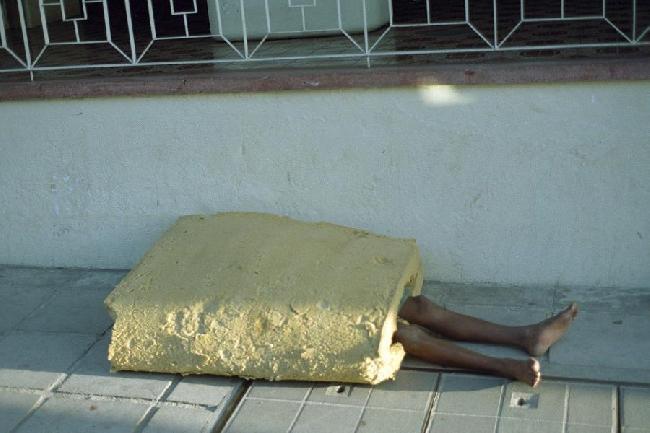 Pobreza en la ciudad...