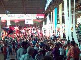 MAS DE DOS MIL PERSONAS EN ACTO DE CIERRE DE CAMPA�A POR EL VOTO NULO (Santiago, Chile)