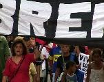 Rosario: Acto en solidaridad con la lucha obrera de Las Heras